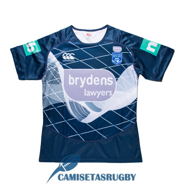 camiseta NSW blues rugby entrenamiento 2018-2019<br /><span class=