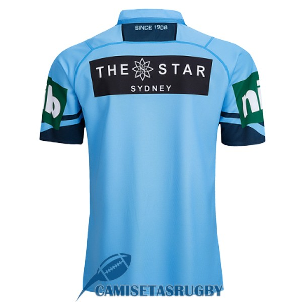 camiseta NSW blues rugby local 2018-2019