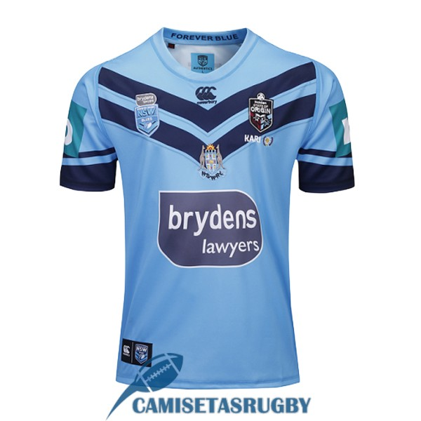 camiseta NSW blues rugby local 2019