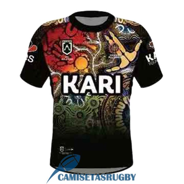 camiseta all stars rugby indigenous camuflaje 2021