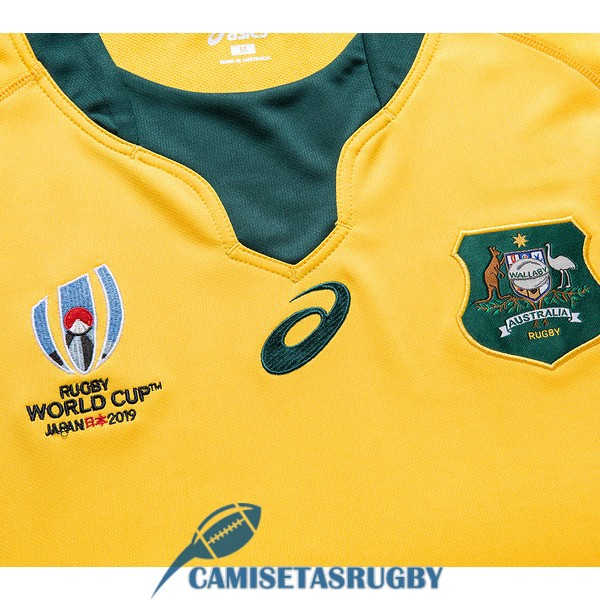 camiseta australia rugby RWC local 2019