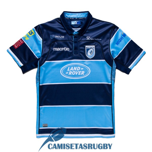 camiseta blues rugby local 2018-2019<br /><span class=