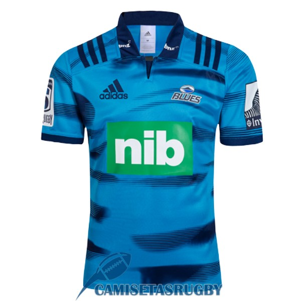 camiseta blues rugby local 2018