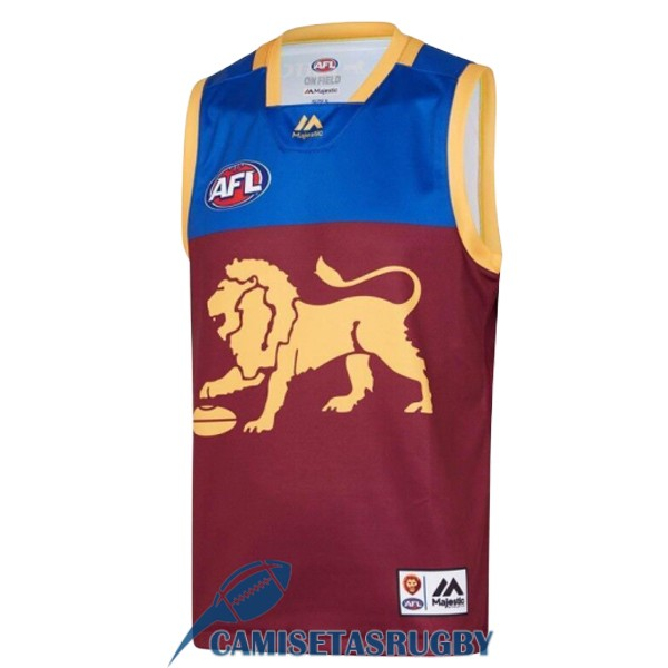 camiseta brisbane lions AFL Guernsey local 2019 [rugby-2]