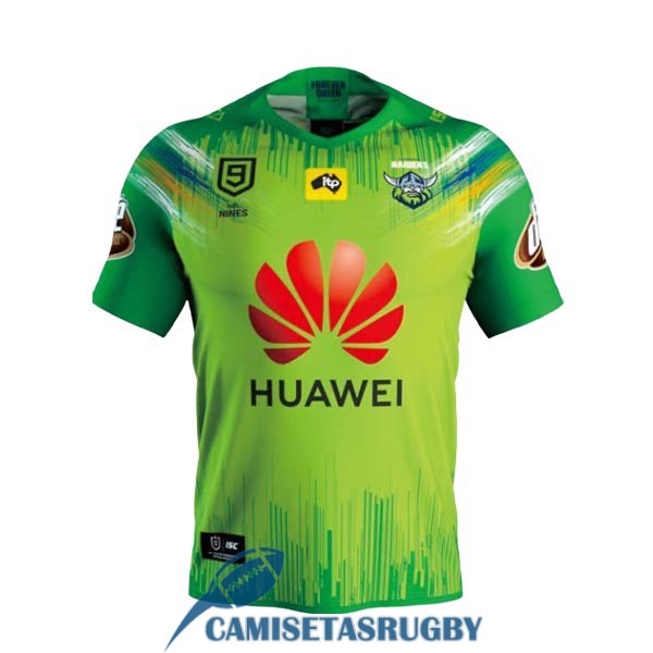 camiseta canberra raiders 9s rugby local 2020