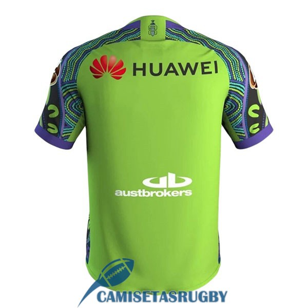 camiseta canberra raiders rugby conmemorativa 2020-2021<br /><span class=