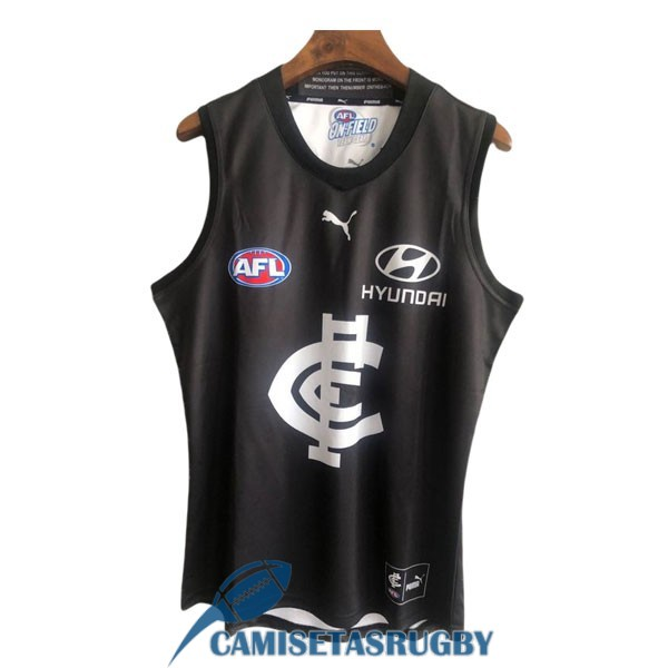 camiseta carlton blues AFL Guernsey local 2020