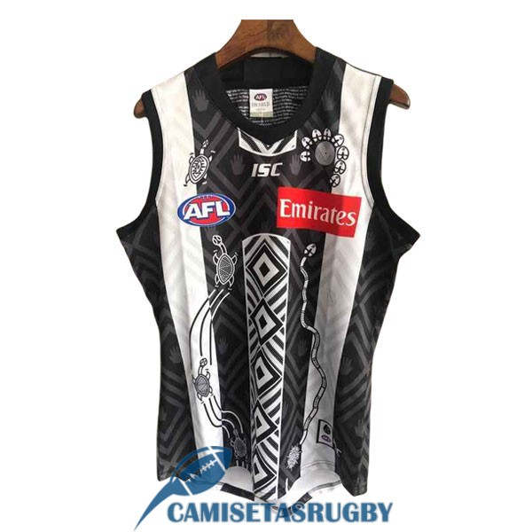 camiseta collingwood AFL Guernsey indigenous 2020-2021<br /><span class=