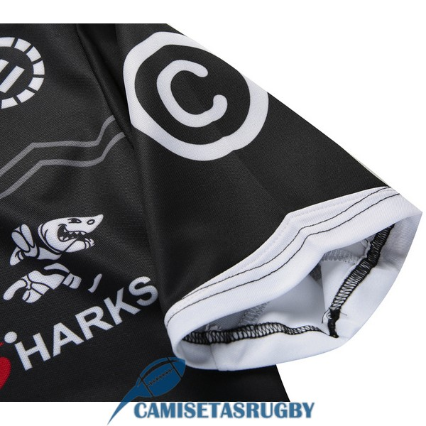 camiseta cronulla sutherland sharks rugby local 2016