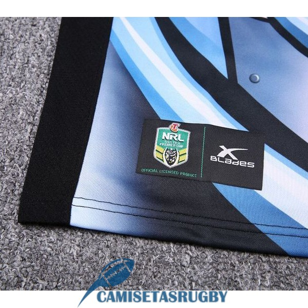 camiseta cronulla sutherland sharks rugby local 2018