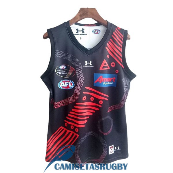 camiseta essendon bombers AFL Guernsey conmemorativa 2020-2021 [rugby-20-9-25-11]