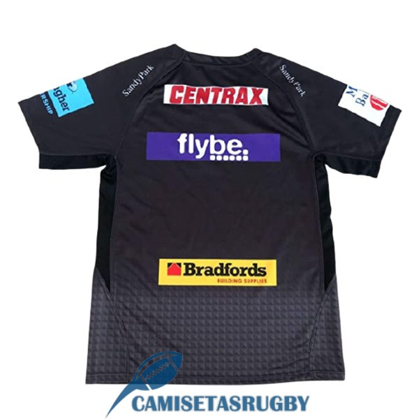 camiseta exeter chiefs rugby negro 2021