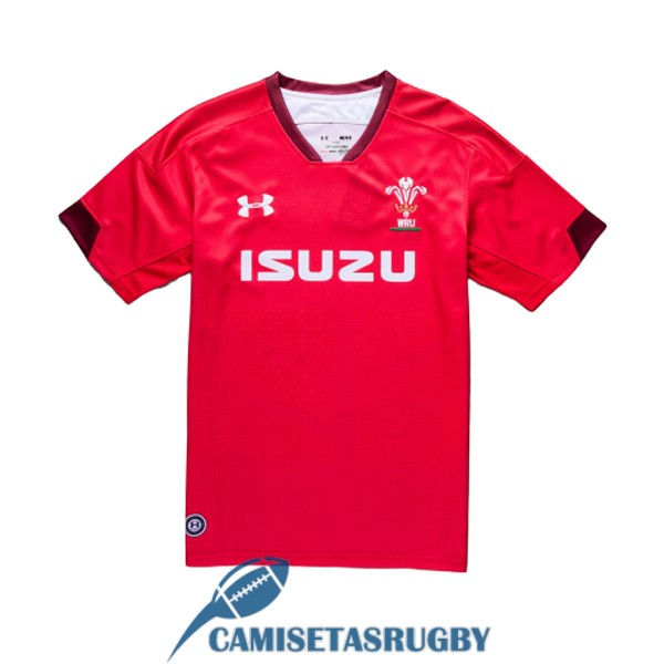 camiseta gales rugby local 2019
