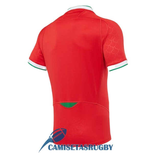 camiseta gales rugby local 2020-2021