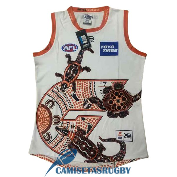 camiseta gold coast suns AFL Guernsey indigenous 2020-2021<br /><span class=