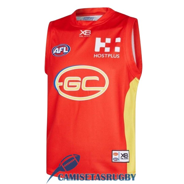 camiseta gold coast suns AFL Guernsey local 2019