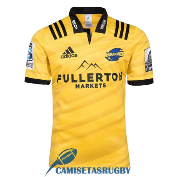 camiseta hurricanes rugby local 2018