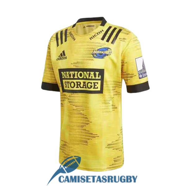 camiseta hurricanes rugby local 2020