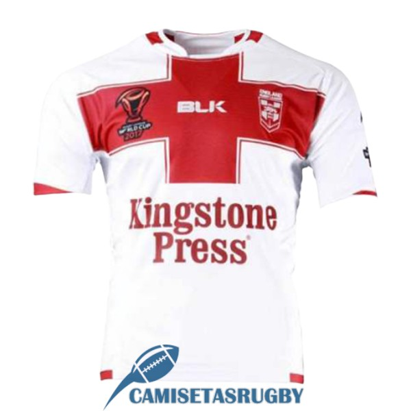 camiseta inglaterra rugby RLWC local 2017