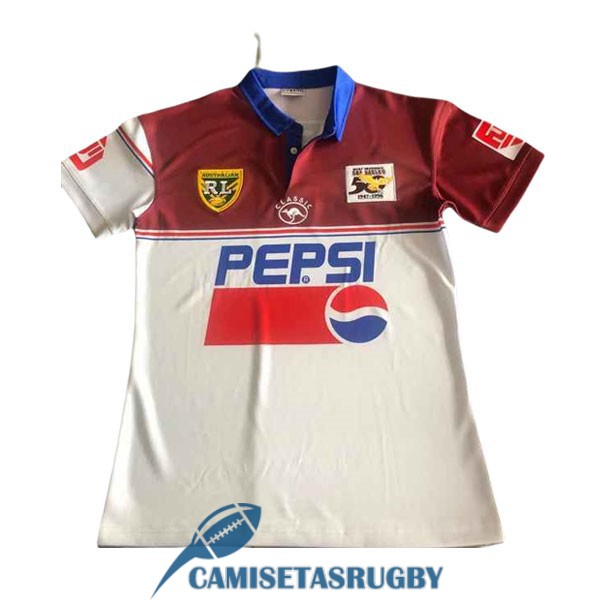 camiseta manly sea eagles rugby 50aniversario conmemorativa 2020