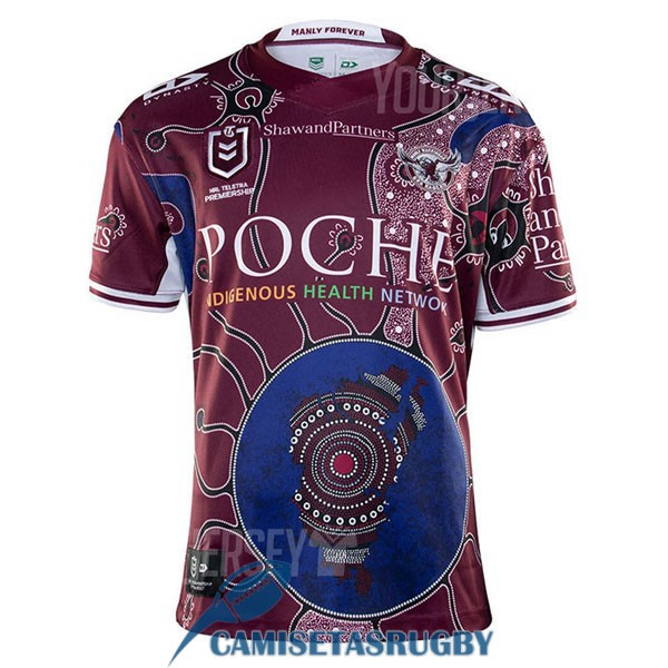 camiseta manly sea eagles rugby conmemorativa 2020-2021