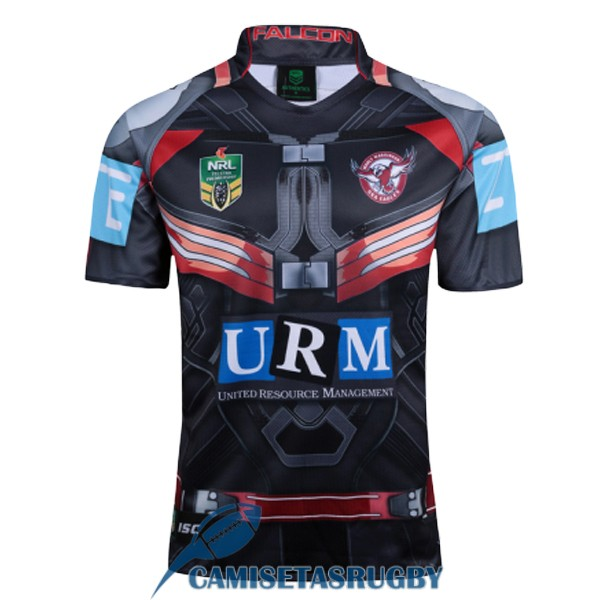 camiseta manly sea eagles rugby heroe 2017