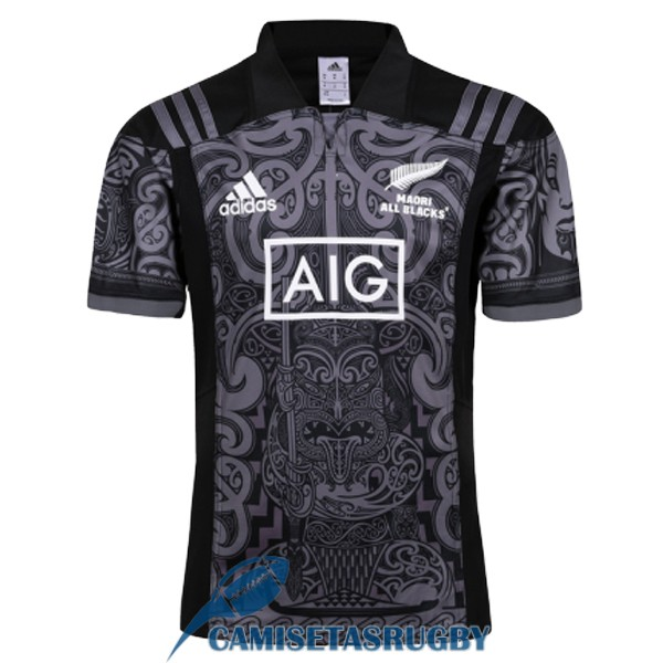 camiseta maori all blacks rugby especial territorio 2017