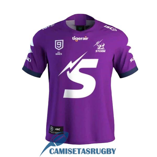 camiseta melbourne storm 9s rugby purpura 2020 [rugby-64]
