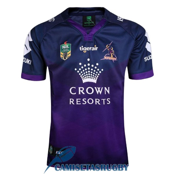 camiseta melbourne storm rugby local 2017