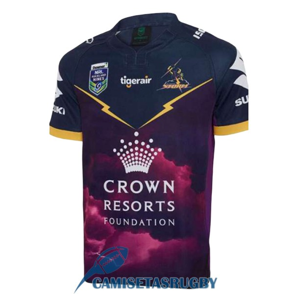 camiseta melbourne storm rugby local 9s 2017