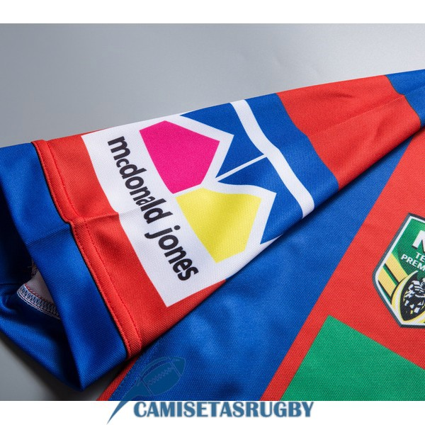 camiseta newcastle knights rugby local 2018