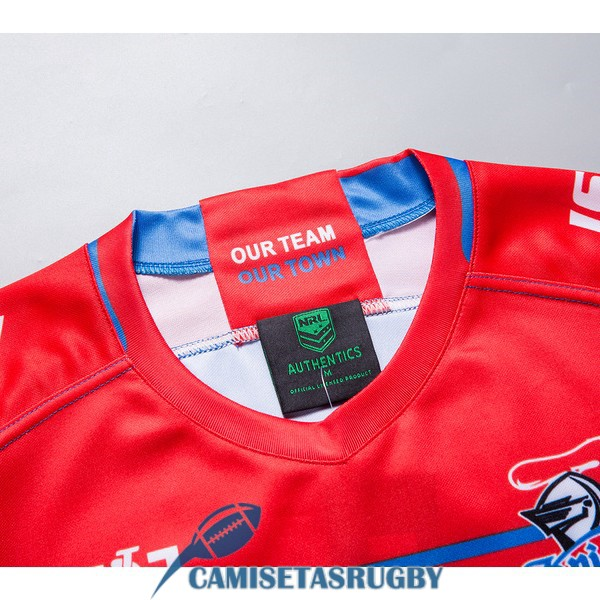 camiseta newcastle knights rugby local 2019