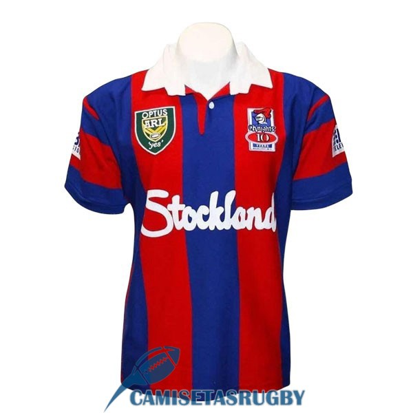 camiseta newcastle knights rugby retro 1997