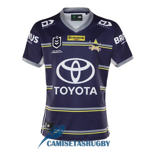 camiseta north queensland cowboys rugby local 2021