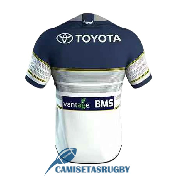 camiseta north queensland cowboys rugby segunda 2019