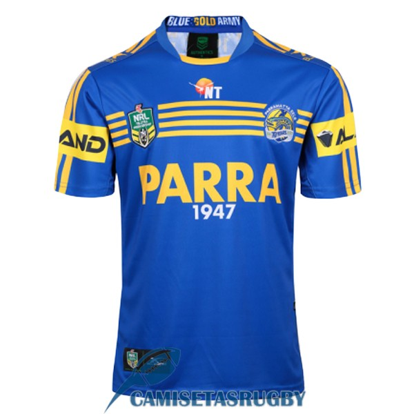 camiseta parramatta eels rugby local 2017