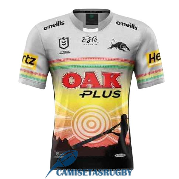 camiseta penrith panthers rugby segunda 2021