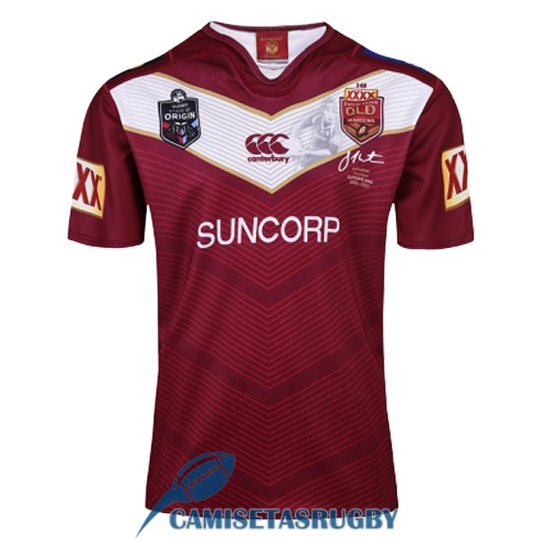 camiseta queensland maroons rugby conmemorativa 2017-2018 [rugby-138]