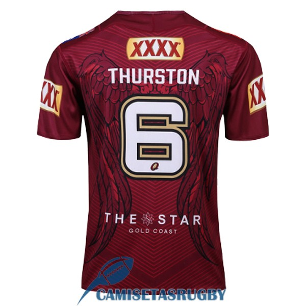 camiseta queensland maroons rugby conmemorativa 2017-2018<br /><span class=