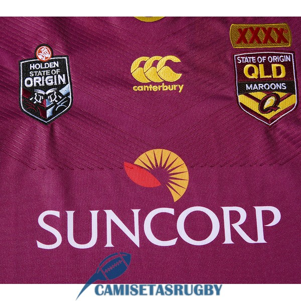 camiseta queensland maroons rugby local 2016