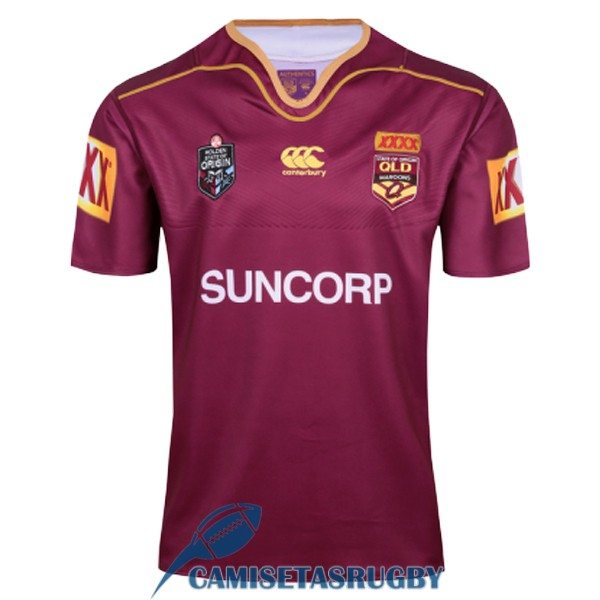 camiseta queensland maroons rugby local 2017