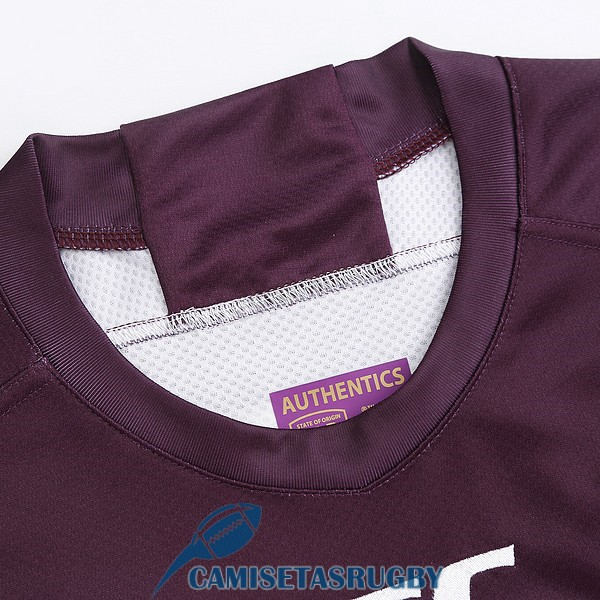 camiseta queensland maroons rugby local 2019