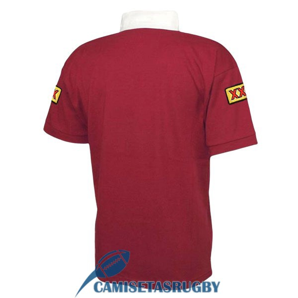 camiseta queensland maroons rugby retro 1998<br /><span class=