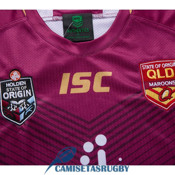 camiseta queensland maroons rugby rojo 2019<br /><span class=