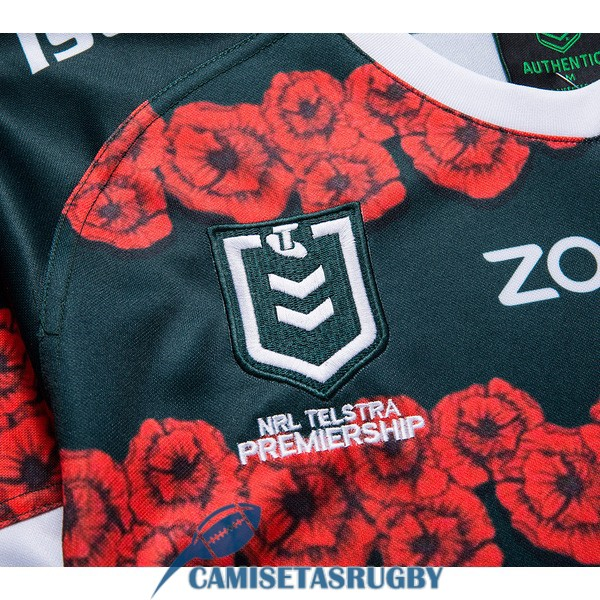camiseta south sydney rabbitohs rugby conmemorativa 2019-2020<br /><span class=