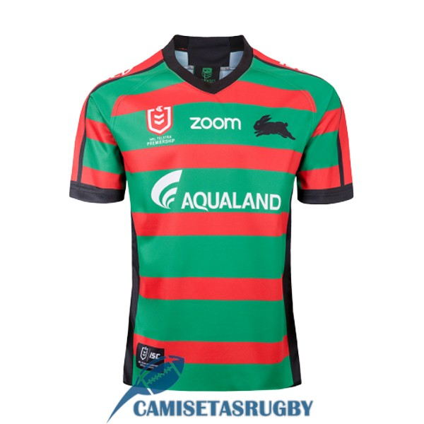camiseta south sydney rabbitohs rugby local 2019-2020
