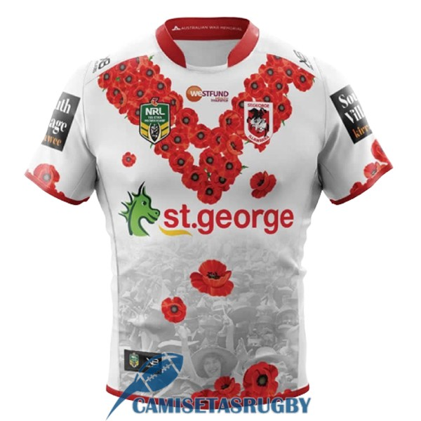 camiseta st george illawarra dragons rugby conmemorativa 2018-2019 [rugby-154]