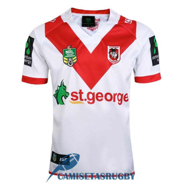 camiseta st george illawarra dragons rugby local 2017