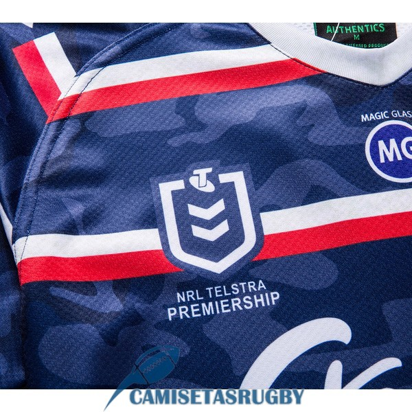camiseta sydney roosters rugby conmemorativa 2019-2020