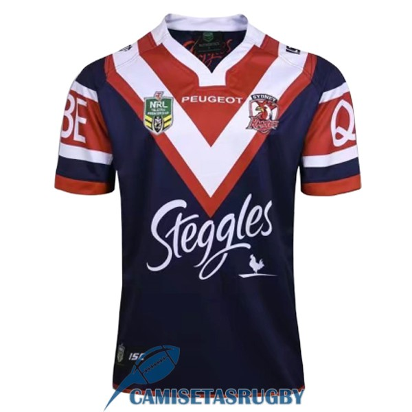 camiseta sydney roosters rugby local 2016